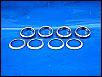 Auspuffdichtungen-, bzw. Ringe, Innendurchm. 32 mm (30 PS, oder älter ???), in original made in Germany VW Qualität, NOS