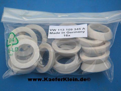 Stößelschutzrohrdichtungen *REINZ*, PRÄMIUM, weiß, made in Germany, (Satz, 16 Stück)