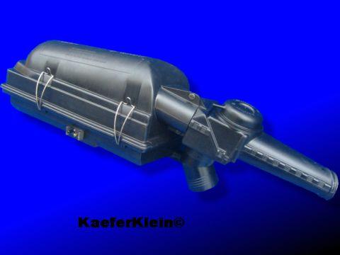 VW Käfer Luftfilter für Papiereinsatz (2 Unterdruckanschlüsse), Original VW-Teil, Teilenummer: 113 129 607