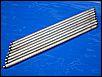 Stößelstangen (Satz) für 1200er Motoren, ca. Gesamtlänge 270 mm, evtl. auch für PORSCHE 356 Motoren