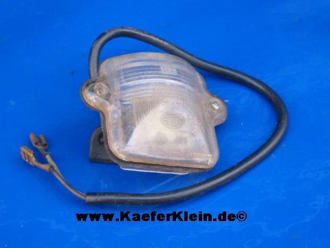 Kennzeichenleuchte für Käfer Bj 68 - , orig. VW