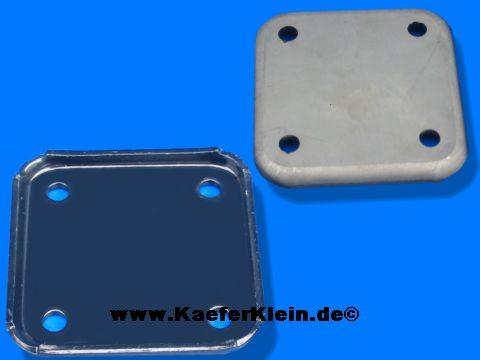 Ölpumpendeckel, Stahl, für Motoren mit 8 mm Stehbolzen, NEU