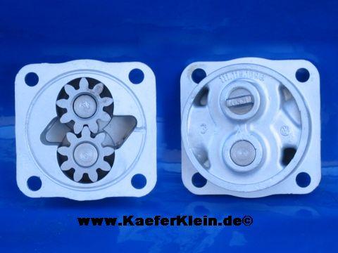 Ölpumpe, Serie, 4-Pkt, 12-Volt, 26 mm Förderradbreite, Teilenr. 111115109B, bzw. 113115109B, orig VW