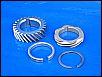 Verteiler/Nockenwellenantriebsrad, 4teiliges Komplettset, orig. VW Teile, made in Germany