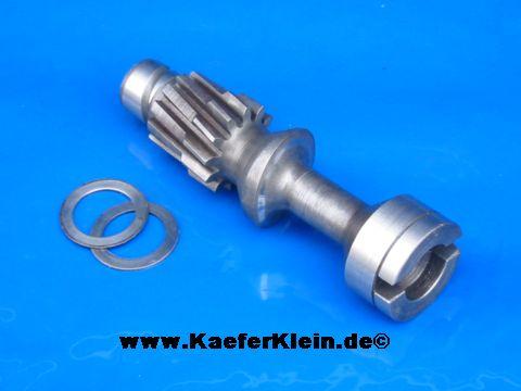 Zündverteilerantriebswelle, incl 2 Gleitscheiben, orig. VW