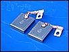 Kohlen für Lichtmaschine Gleichstrom, 12-Volt, Paar, NEU