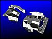 Zylinderbleche in Chrom, Doppelkanal, Paar, für VW-Käfer / Trike / Buggy Motor, NEU