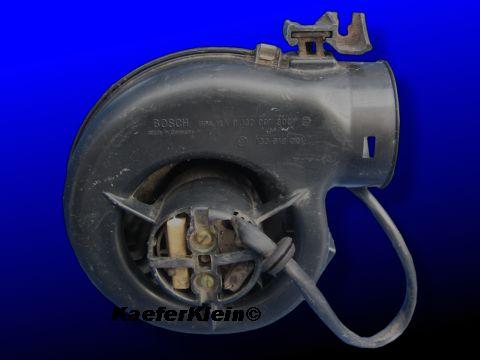Elektrisches 2-Stufen FRISCHLUFTGEBLÄSE für 03er VW-Käfer, Teilenr. 133819021