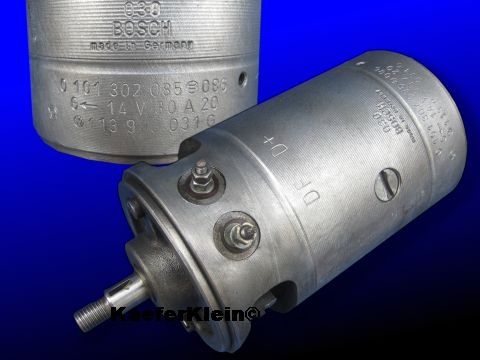 Lichtmaschine BOSCH, Gleichstrom, 30 A, made in Germany
