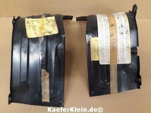 Luftleitbleche unter den Stößelschutzrohren 2-teilig, orig. VW Teile, Nr. 311119335D / 311119336D, made in Germany, NOS