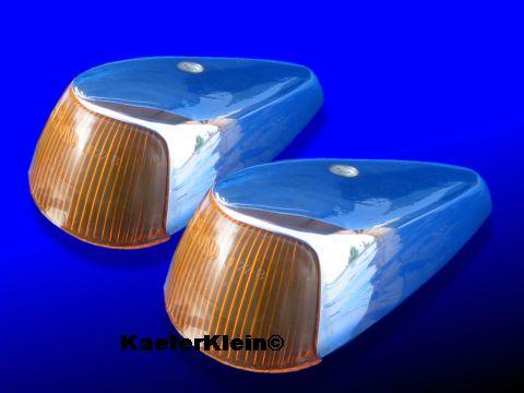 Blinker breit incl Innenleben (Reflektoren), Paar, für Kotflügel, made in Germany