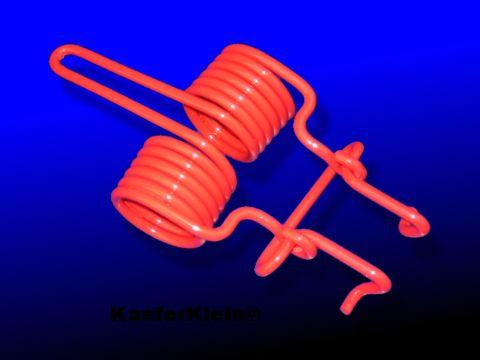 Feder für Motorklappe, rot
