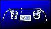 Crossbar-Gasgestänge für Typ 1 Motoren mit z.B. Weber Vergasern