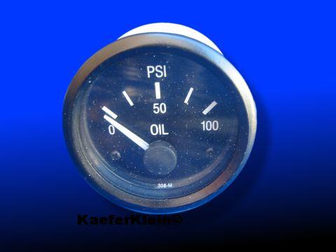 Öldruckmesser Anzeigeinstrument, 12-Volt, NEU
