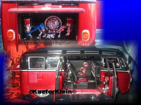 Modellauto, T1 Bus Custom, NEU u. originalverpackt