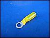 Wärmeschrumpfverbinder 6er Ösenloch NEU gelb