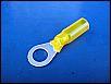Wärmeschrumpfverbinder 8er Ösenloch NEU gelb