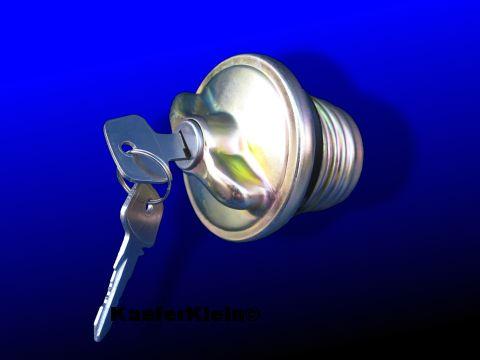 Tankdeckel abschließbar, incl. 2 Schlüssel, NEU