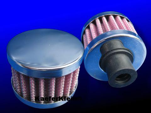 Mini Luftfilter zur Entlüftung des Motorgehäuses, NEU
