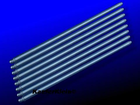 Stößelstangen, Chrom-Moly, GENE BERG, Gesamtlänge incl. eingepresster Köpfe = 276 mm, für luftgekühlte VW Boxer Käfer Motoren mit 69er KW Hub