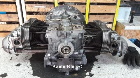 Doppelkanal Käfer / Bus / Kübel 181 / Karmann / Trike Rumpfmotor, 1600ccm, Kennbuchstabe AS für SCHNELLentschlossene zum überholen
