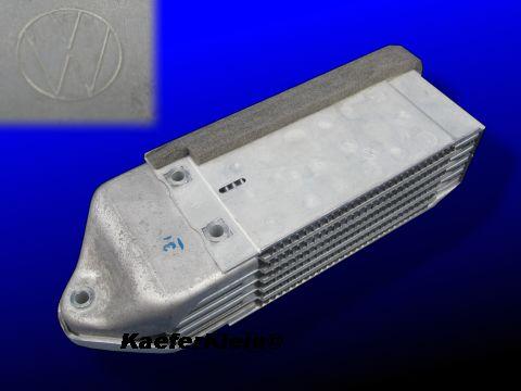 """Aluminium Ölkühler, extern, für """"Hundehütte"""", BESSERE KÜHLLEISTUNG, orig VW, made in Germany, NEU ***RESTPOSTEN***"""
