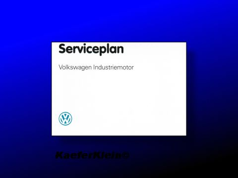 Serviceplan Industriemotor, NEU