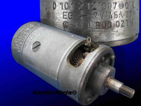 6-Volt Lichtmaschine, 45 Amp., BOSCH, made in Germany, Teilenr. 111903021G