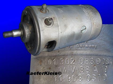 Lichtmaschine BOSCH ***BehördenLichtmaschine***, 105 mm, Gleichstrom, 38 Amp, made in Germany, Teilenr. 211 903 031 D