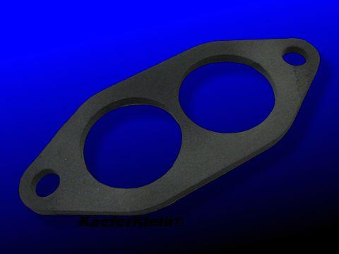 Pertinax Isolierflansch, 4mm, Doppelkanal, made in Germany, NEU