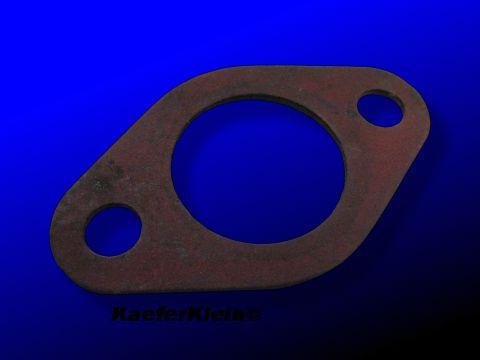 Pertinax Isolierflansch, 4 mm, Einkanal, zwischen Ansaugrohr und 34er Vergaserserunterteil, NEU