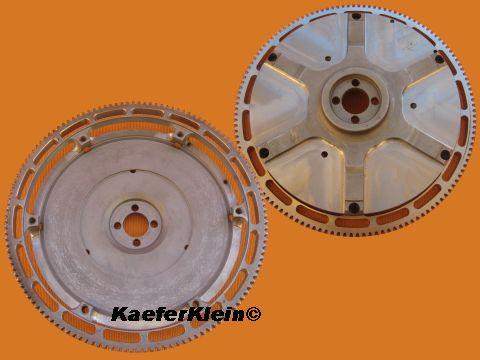 200er EXTREM Schwungscheibe 3,6 kg, made in SCHWOOOBELÄNDLE, für Käfermotor