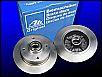 Bremsscheibe original ATE, made in GERMANY, für VW-Käfer / Typ 3, VW Vergleichnummern 113407075, bzw. 311405583A, NEU