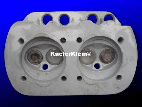 1600er Doppelkanal Zylinderköpfe, orig. VW, Teilenr. 113101375, made in Germany, bleifrei, ***MIT RISSEN***, Paar