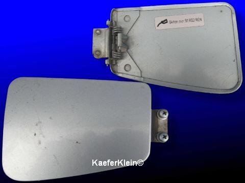 Klappe, bzw. Tankdeckel für Benzineinfüllstutzen, 1302/03, langer Vorderwagen, orig. VW
