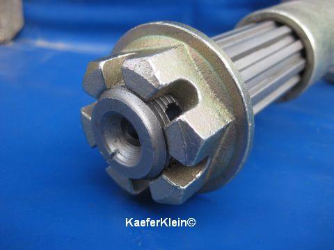 Kronenmutter M24, für Hinterachswelle, Achsstummel, orig. VW