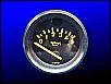 Öldruckmesser / Öldruckanzeige, VDO, 12-Volt, gelbe Ziffern, bis 5 bar, 52 mm