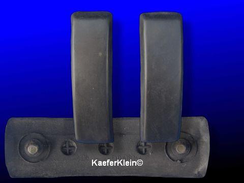 Stoßstangengummi für Kastenstoßstangen, orig VW, Paar, NEU
