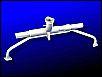 *QUALITÄTSPREIS* 1600er Doppelkanal Ansaugrohr (Hirschgeweih), einfache Vorwärmung mit Unterdruck und Befestigungsnase, NEU