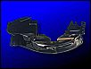 Blech hinter Riemenscheibe, Version 5, für 13/15/1600er Motoren mit Öleinfüllstutzen MIT Ölablaufrohr nach unten