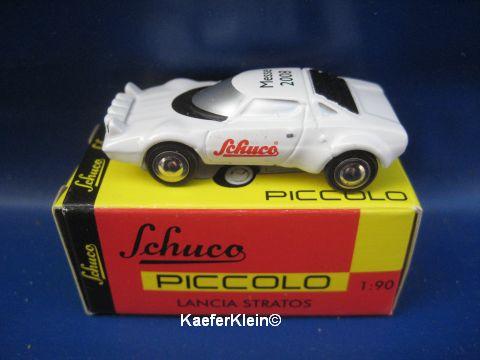 Modellauto, Lancia Stratos, NEU u. originalverpackt, 1:90, Messe SONDERMODELL