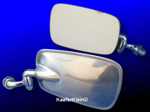Rückspiegel außen, Fahrerseite, Fahrzeugzuordnung unbekannt, orig VW, Teilenummer 361/2-857502/1-BC