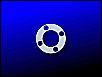 Abstandsscheibe Distanzscheibe, ca. 0,2 mm, Alublech, für Kurbelwellen Schwungrad Axialspiel, NEU