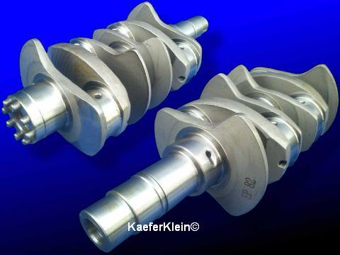 Langhub.- Gegengewichtskurbelwelle, 82 mm Hub, geschmiedet, 8-fach verstiftet, für Typ 1 Tuning Motoren bis 2276 ccm, NEU