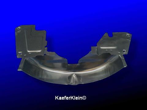 Blech hinter Riemenscheibe, Version 4.2, für 1200er Motoren mit Öleinfüllstutzen OHNE Ölablaufrohr nach unten