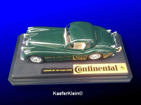 Modellauto, Jaguar XK 120 Coupe, NEU u. originalverpackt, Messe SONDERMODELL