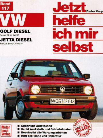 Buch - Dieter Korp, Jetzt helfe ich mir selbst Golf 2 Diesel