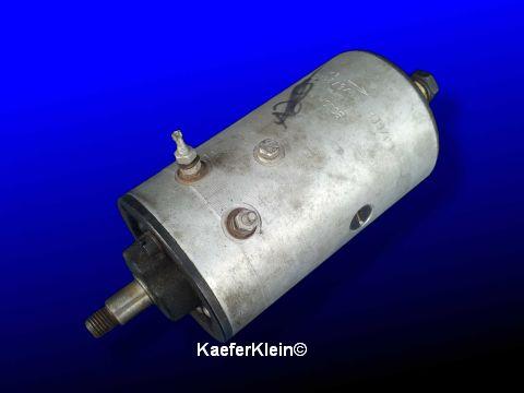 6-Volt Lichtmaschine, 90mm, BOSCH, ohne Öffnungen, Zuordnung unbekannt, orig BOSCH, made in Germany, NOS