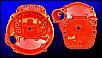 Getriebestarterglocke rot, orig. VW, Teilenr. 002301107A