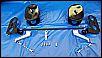 Crossbar-Gasgestänge und WEBER Luftfilterskelette, für BASTLER, für Typ 1 Motoren mit z.B. Weber Vergasern